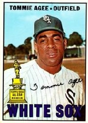 1967 Topps Baseball Cards      455     Tommie Agee