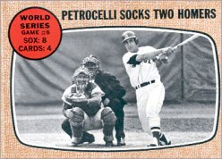 1968 Topps Baseball Cards      156     World Series Game 6-Rico Petrocelli