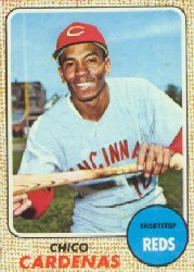 1968 Topps Baseball Cards      023      Chico Cardenas