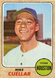 1968 Topps Baseball Cards      274     Mike Cuellar