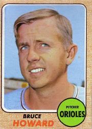 1968 Topps Baseball Cards      293     Bruce Howard