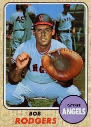 1968 Topps Baseball Cards      433     Bob Rodgers