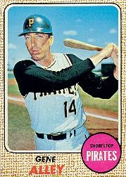 1968 Topps Baseball Cards      053      Gene Alley