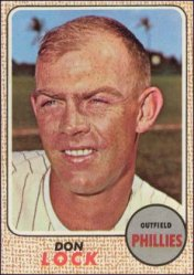 1968 Topps Baseball Cards      059      Don Lock