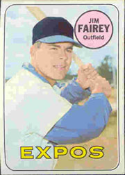 1969 Topps Baseball Cards      117     Jim Fairey