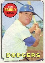 1969 Topps Baseball Cards      122     Ron Fairly
