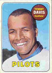 1969 Topps Baseball Cards      135     Tommy Davis