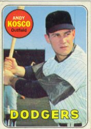 1969 Topps Baseball Cards      139     Andy Kosco