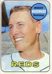 1969 Topps Baseball Cards      142     Woody Woodward