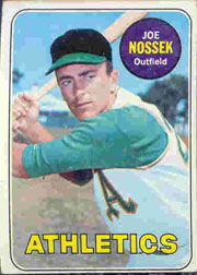 1969 Topps Baseball Cards      143     Joe Nossek