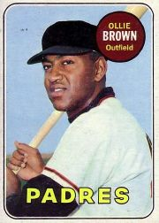1969 Topps Baseball Cards      149     Ollie Brown