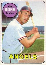 1969 Topps Baseball Cards      157     Bob Rodgers