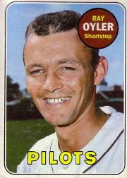 1969 Topps Baseball Cards      178     Ray Oyler