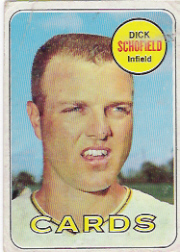 1969 Topps Baseball Cards      018      Dick Schofield