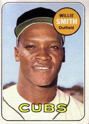 1969 Topps Baseball Cards      198     Willie Smith