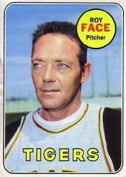 1969 Topps Baseball Cards      207     Roy Face