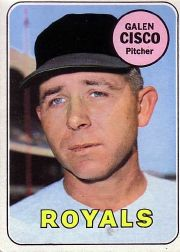 1969 Topps Baseball Cards      211     Galen Cisco