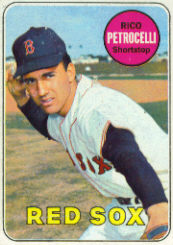 1969 Topps Baseball Cards      215     Rico Petrocelli