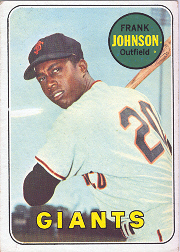 1969 Topps Baseball Cards      227     Frank Johnson RC