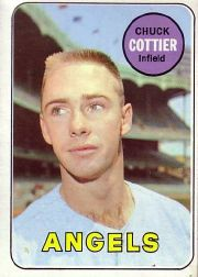 1969 Topps Baseball Cards      252     Chuck Cottier