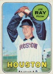 1969 Topps Baseball Cards      257     Jim Ray