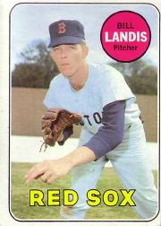 1969 Topps Baseball Cards      264     Bill Landis