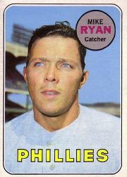 1969 Topps Baseball Cards      028      Mike Ryan