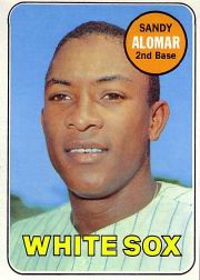 1969 Topps Baseball Cards      283     Sandy Alomar