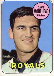 1969 Topps Baseball Cards      029      Dave Morehead