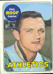 1969 Topps Baseball Cards      334     Phil Roof