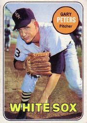 1969 Topps Baseball Cards      034      Gary Peters