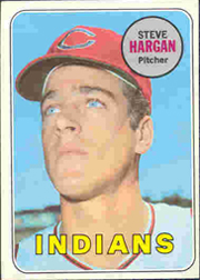1969 Topps Baseball Cards      348     Steve Hargan