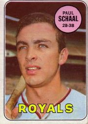1969 Topps Baseball Cards      352     Paul Schaal