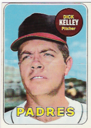 1969 Topps Baseball Cards      359     Dick Kelley