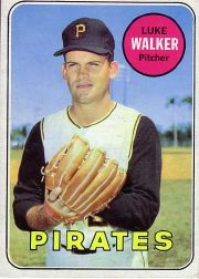 1969 Topps Baseball Cards      036      Luke Walker