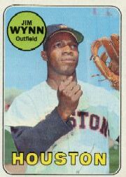 1969 Topps Baseball Cards      360     Jim Wynn