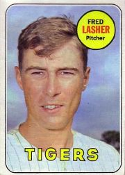 1969 Topps Baseball Cards      373     Fred Lasher