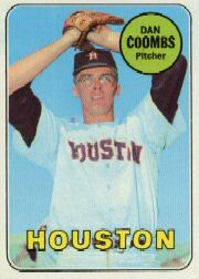 1969 Topps Baseball Cards      389     Dan Coombs