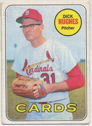 1969 Topps Baseball Cards      039      Dick Hughes