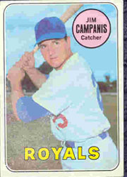 1969 Topps Baseball Cards      396     Jim Campanis