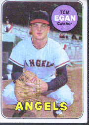 1969 Topps Baseball Cards      407     Tom Egan