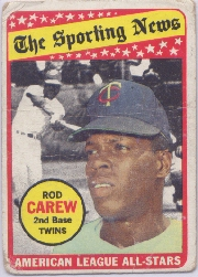 1969 Topps Baseball Cards      419     Rod Carew AS