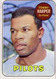 1969 Topps Baseball Cards      042      Tommy Harper