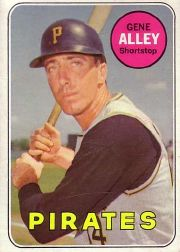 1969 Topps Baseball Cards      436     Gene Alley