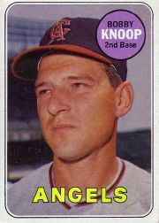 1969 Topps Baseball Cards      445     Bobby Knoop