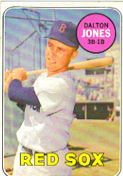 1969 Topps Baseball Cards      457     Dalton Jones