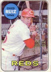 1969 Topps Baseball Cards      469     Chico Ruiz