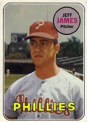 1969 Topps Baseball Cards      477     Jeff James RC
