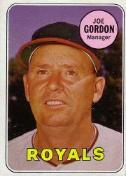 1969 Topps Baseball Cards      484     Joe Gordon MG