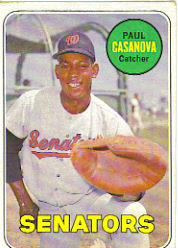 1969 Topps Baseball Cards      486A    Paul Casanova